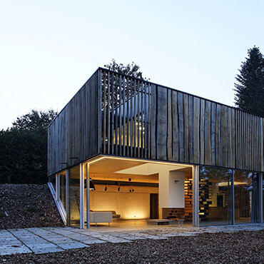 The Lodge Wooden Simple In London